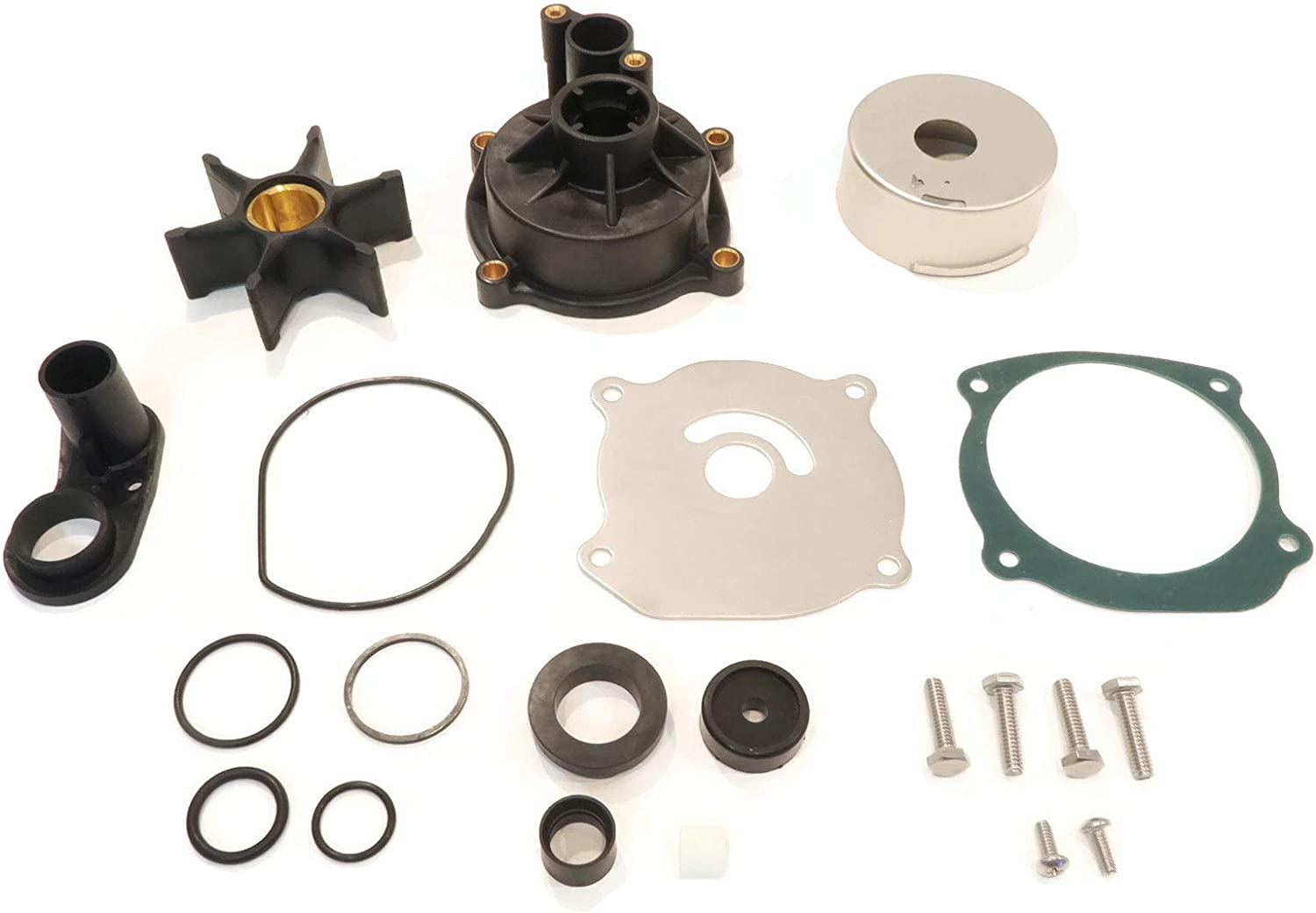 The ROP Shop | Water Pump Rebuild Kit for 1986 Evinrude 100HP, E100WMLCDR, 110HP, E110TLCDC