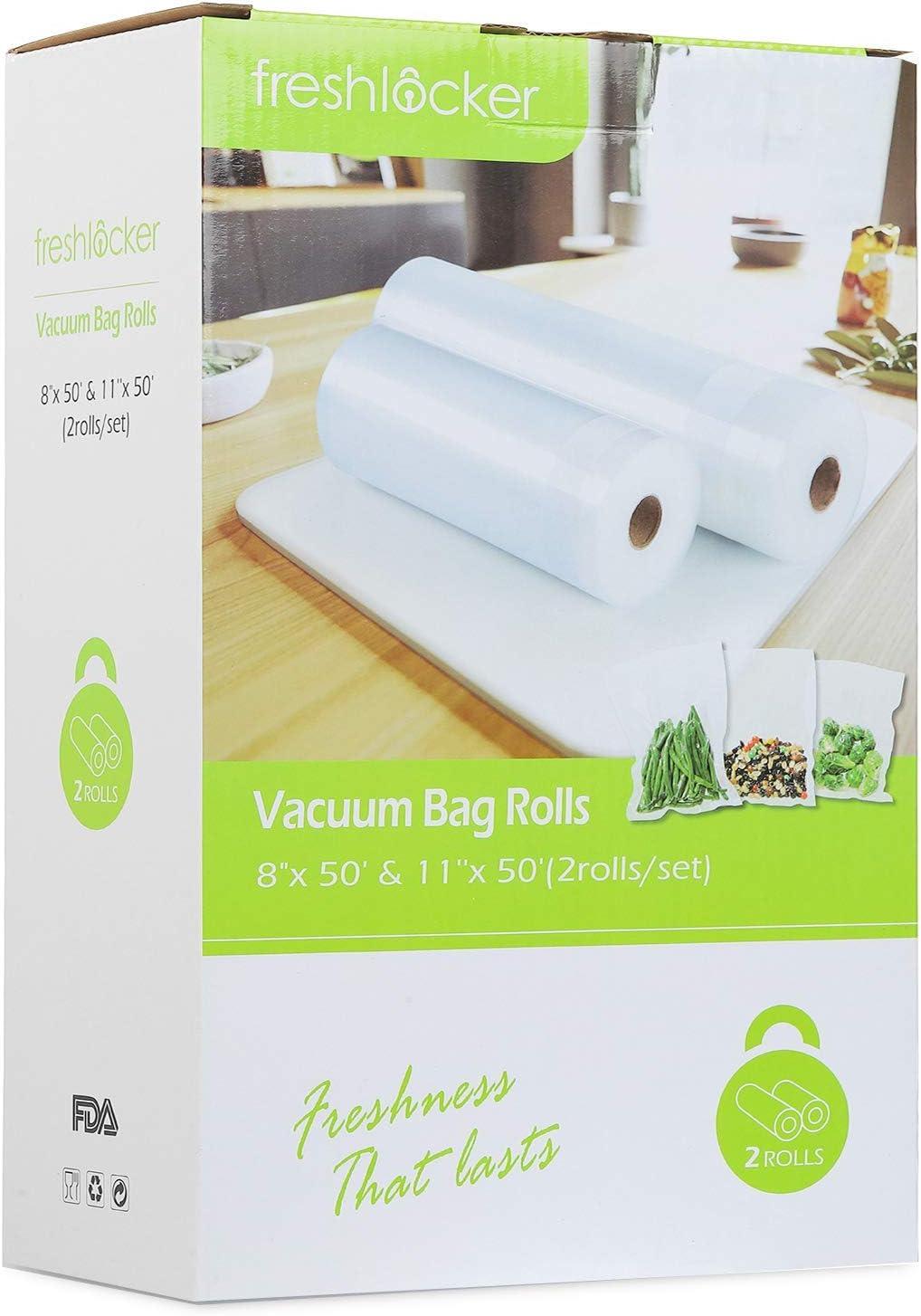 Freshlocker Vacuum Sealer Rolls, 1 Roll 8