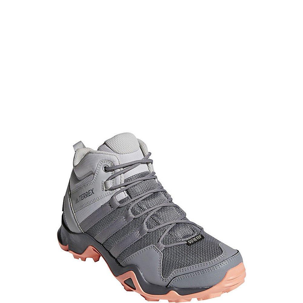 adidas Sport Performance Women's Terrex Ax2r Mid GTX W Sneakers B072Y7JSCR 6.5 M US|Grey Two, Grey Three, Chalk Coral