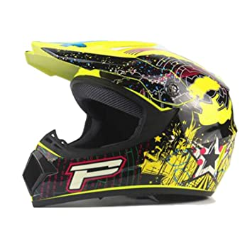 Qianliuk Top ABS Motocicleta Casco clásico Bicicleta Racing Casco Motocross Downhill Bike Casco