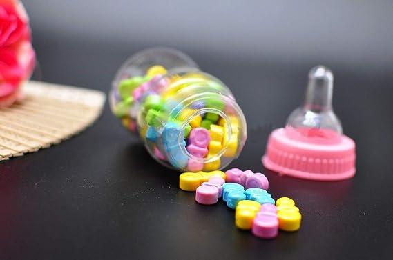 Amazon.com: Noa Store 12 botellas rellenables para baby ...