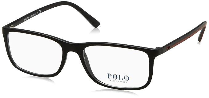 Polo PH2162 Eyeglass Frames 5284-54 - 54mm Lens Diameter Matte Black ...