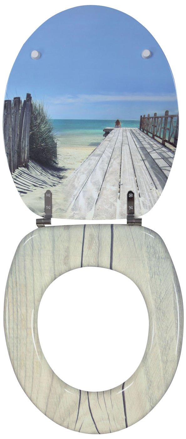 Wirquin Trendy Line Tapa para WC diseño de playa