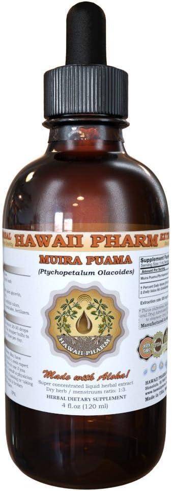 Muira Puama Ptychopetalum Olacoides Liquid Extract 4 oz
