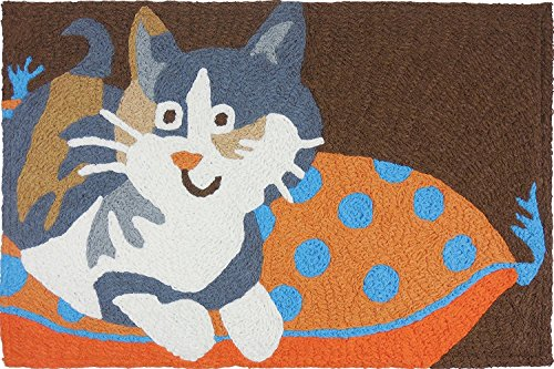 Cat On Pillow by Jellybean®