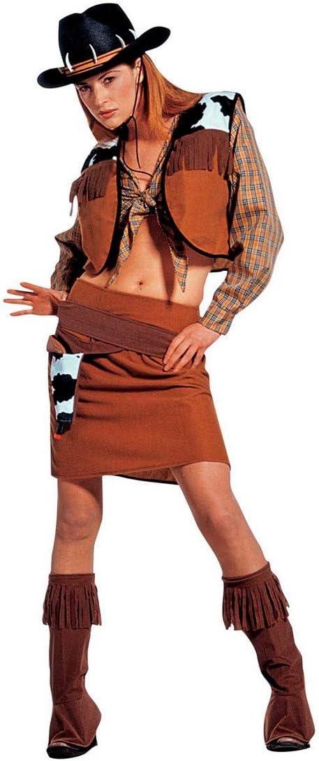 Disfraz de Carnaval Disfraz de vaquero para mujer vaquera Cow Girl ...