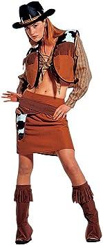 Disfraz de Carnaval Disfraz de vaquero para mujer vaquera Cow ...