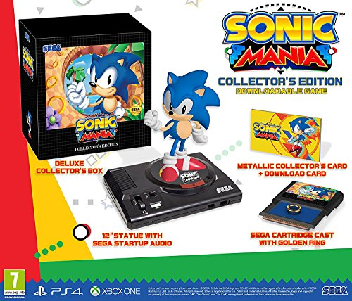 Sonic Mania Collectors Edition (PS4) UK IMPORT REGION FREE by By Sega