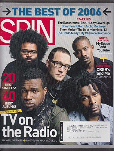 SPIN TV on the Radio Raconteurs Beck Ghostface Killah Thom Yorke ++ 1 2007