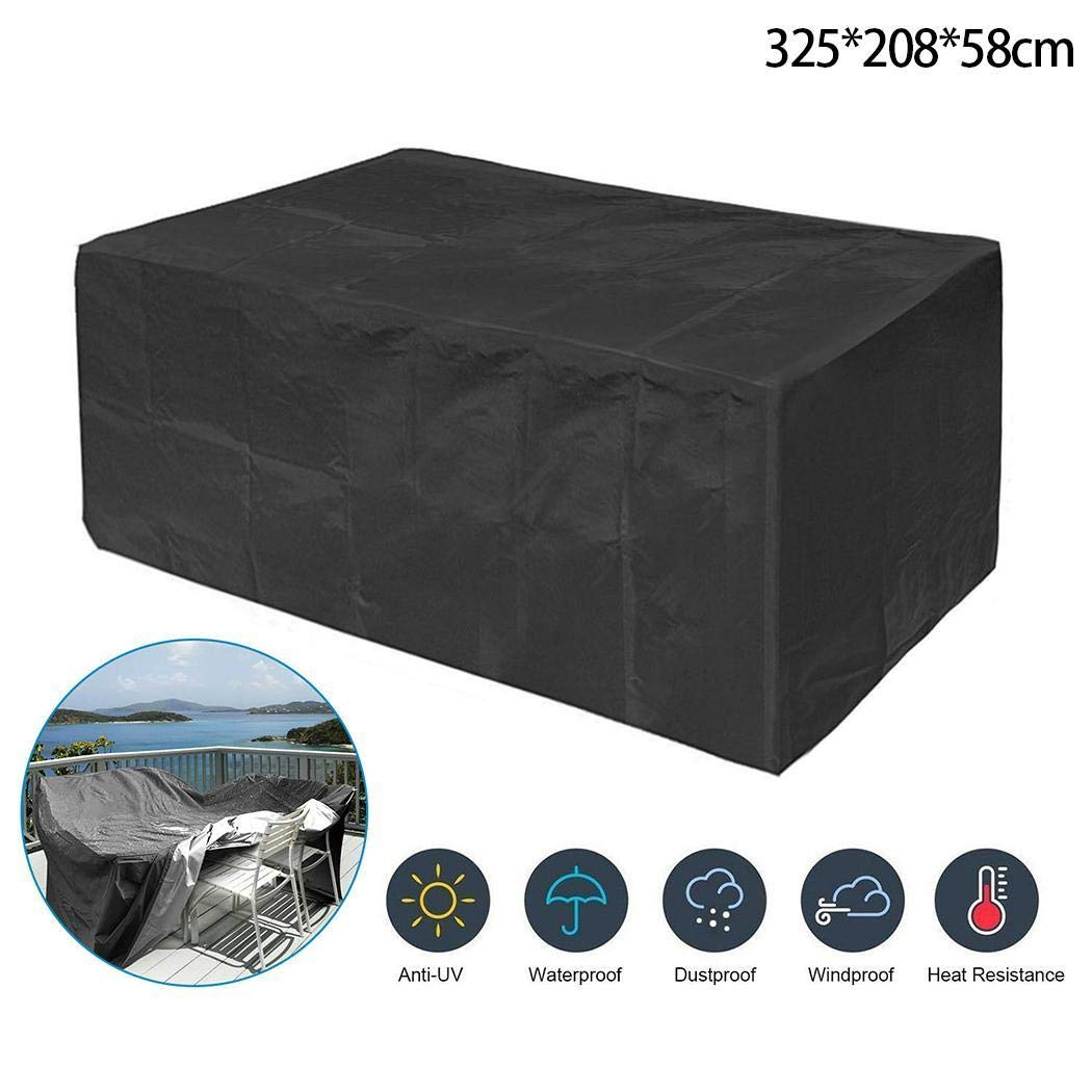 OYTRO Outdoor Furniture Cover Garden Dustproof Waterproof Protective Cover Shade Sail Hardware
