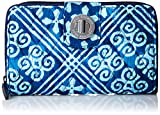 Kyпить Vera Bradley Women's Rfid Turnlock Wallet, Cuban Tiles на Amazon.com