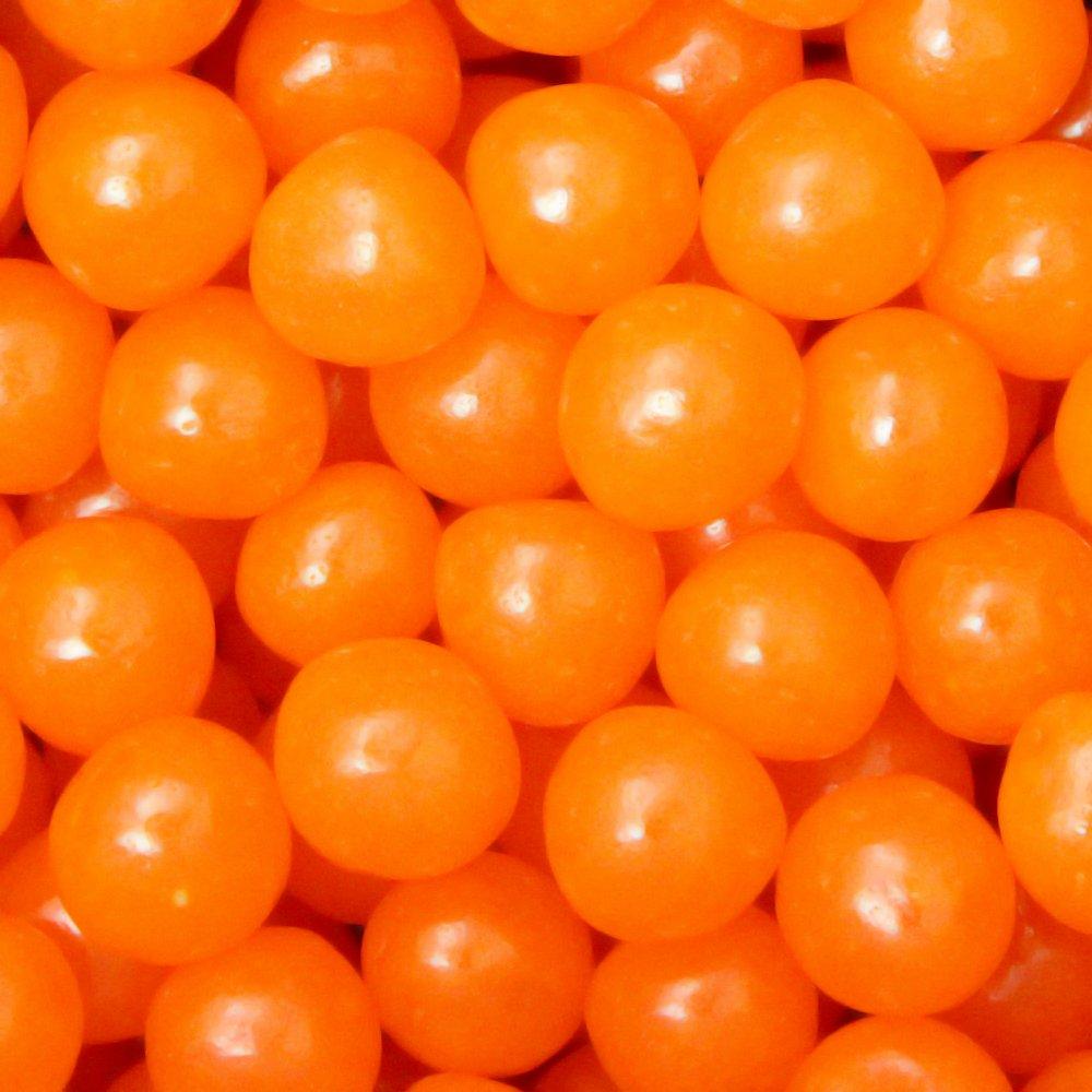 Chewy Sour Balls - Orange - 5lb Bag