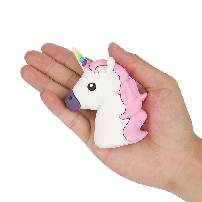 jctek 2600 mAh Mini banco de alimentación unicornio regalo ...