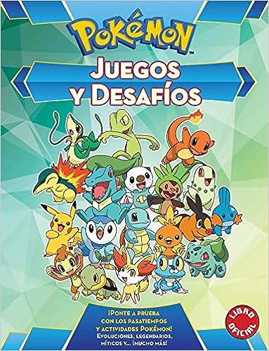 Juegos y desafíos (Colección Pokémon): Amazon.es: Varios ...