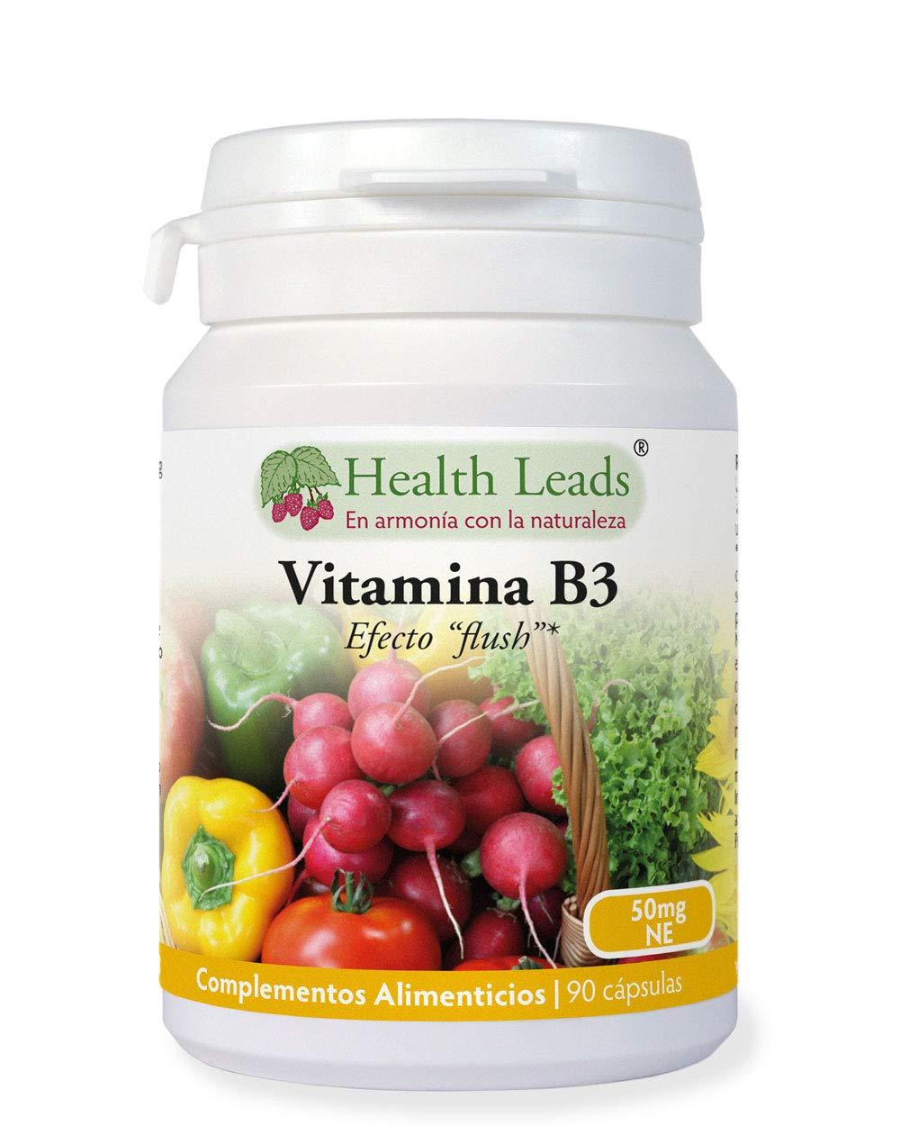 Vitamina B3 niacina/ácido nicotínico (con efecto