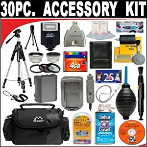 30 Pc Ultimate Super Savings Deluxe DB Roth Accessory Kit For The Canon Digital Rebel XTi XT Digital SLR Cameras