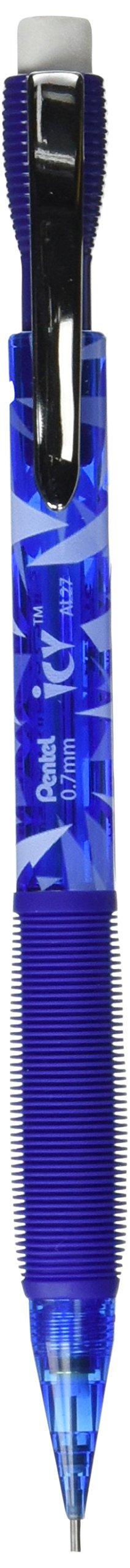 Lapiz automati, .7mm, Refillable, 24/PK, Blue, Sold as 1...