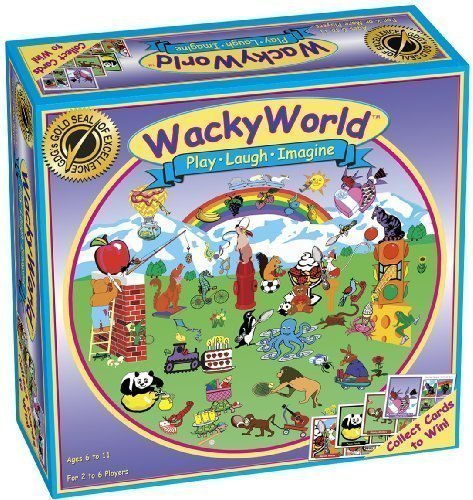 WACKY WORLD Board - Stare Junior Game