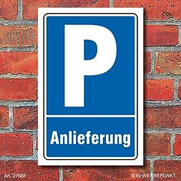 Schild Parkverbot Halteverbot Privatparkplatz Hochkant 3 mm Alu-Verbund