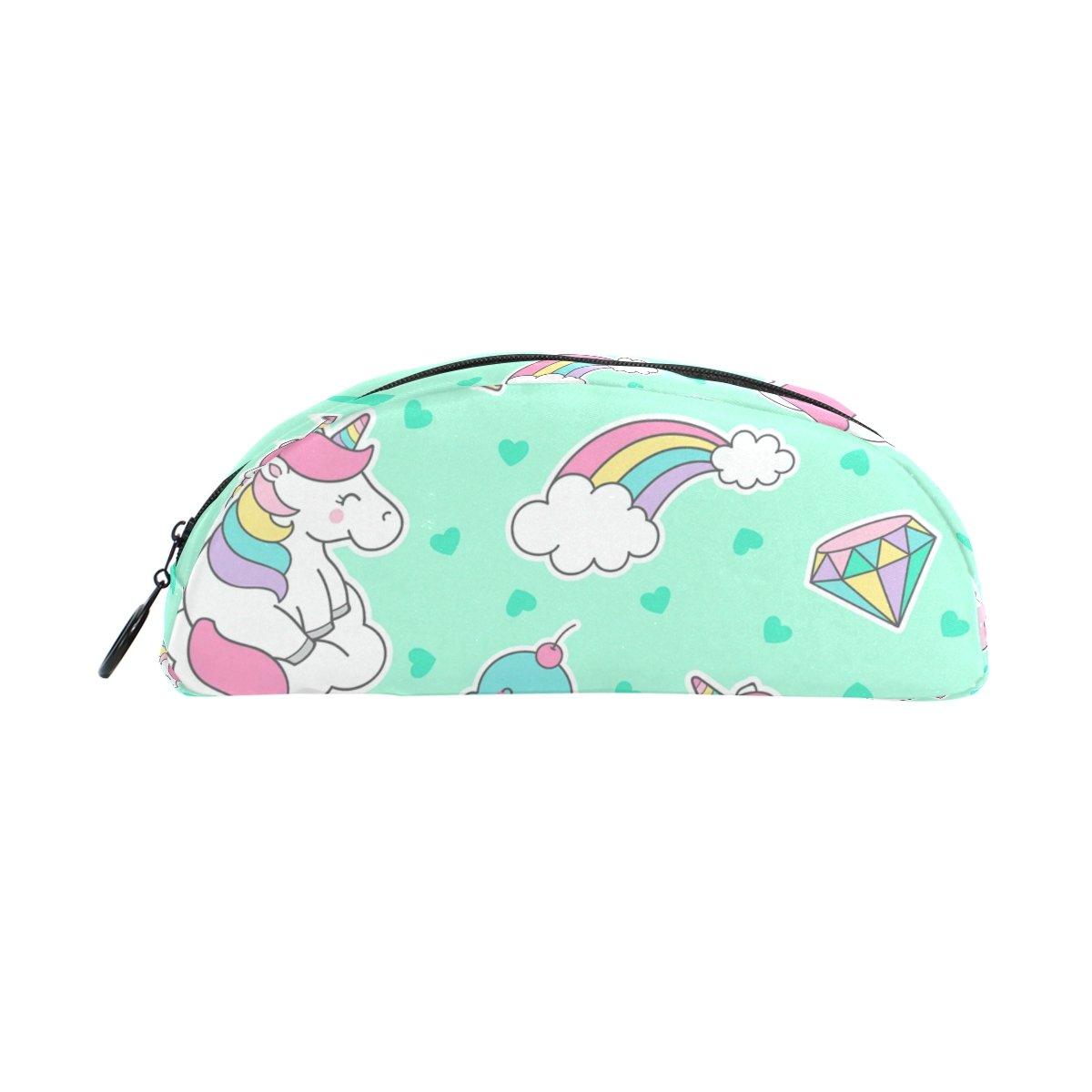 Estuche para lápices, diseño de unicornio arcoíris en la ...