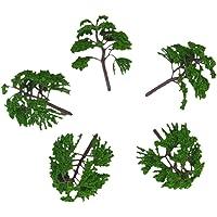 5 Piezas 1:75-100 Modelos De Árboles Modelos De