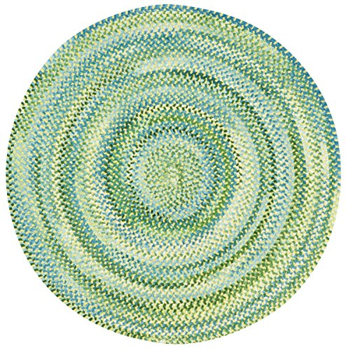 Capel Rugs Polyester Rug - Capel Rugs Waterway Round Braided Area Rug, 36