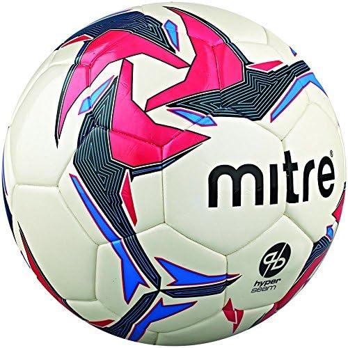Mitre Pro Futsal Match Ball - White/Red/Black, Size 4: Amazon.es ...