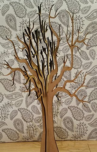 Beautiful Lasercut Wooden Freestanding 3D Large Tree ~ craft tree ~ wishing tree ~ wedding decor ~ guest book ~ laser cut Legacy Lasercrafts