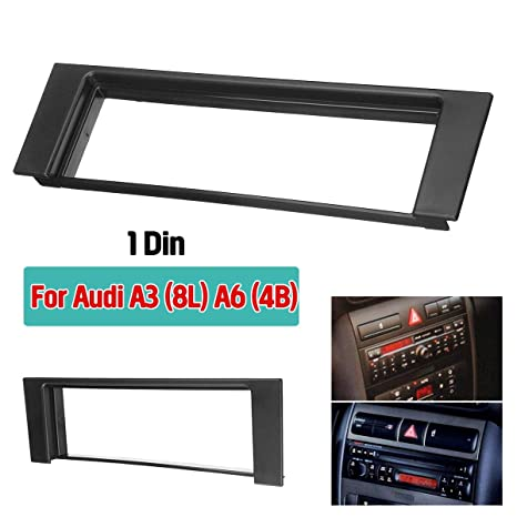 Amazon.com: Sammiler - Car Fascia Stereo Audio Radio Plate Panel Dash Frame Fascias Replacement For Audi A3 8L A6 4B Fiat Scudo For Seat Toledo Leon: Home ...