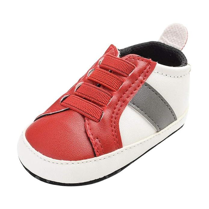 ZOREFINE ♥ Baby Boy Girl Zapatillas de Deporte de Cuero para ...