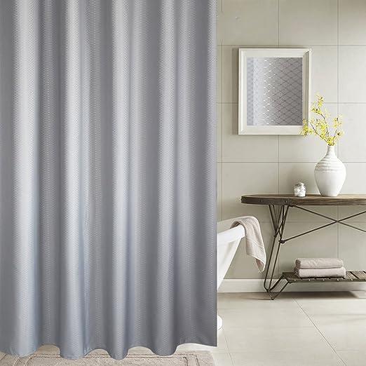 Moolocole Impermeable Poliéster espeso cortina de ducha Ojo ...
