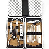 Belle Deluxe Vogue Personal Care Nail Clippers Trimmers Tools Kits Set of 13pcs Stainless Steel Manicure & Pedicure