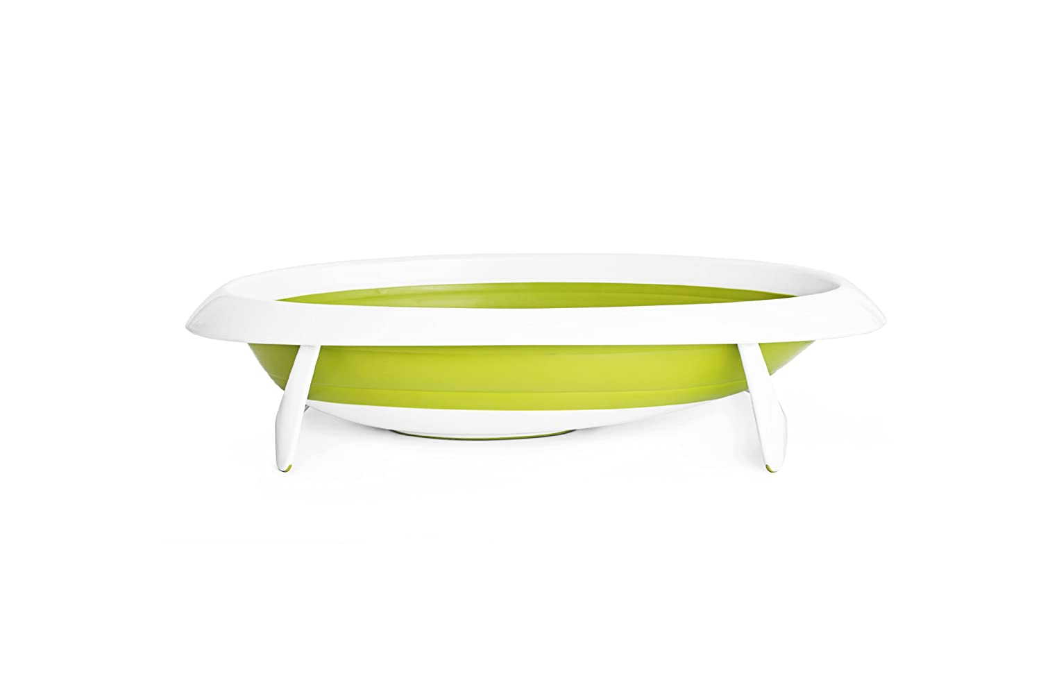 Amazon.com : Boon Naked Collapsible Baby Bathtub Green, Green ...