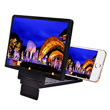 DAMAI Profesional Pantalla del Teléfono Móvil Lupa Portátil 3D Tamaño Vídeo De La Película Ampliación del