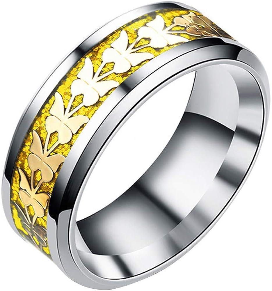 幸運な太陽 レディース 婚約指輪 蝶 リング 誕生日 プレゼント おしゃれ 格安 金属アレルギー対応 ゆびわ 贈り物 仕上げ ファッションリング