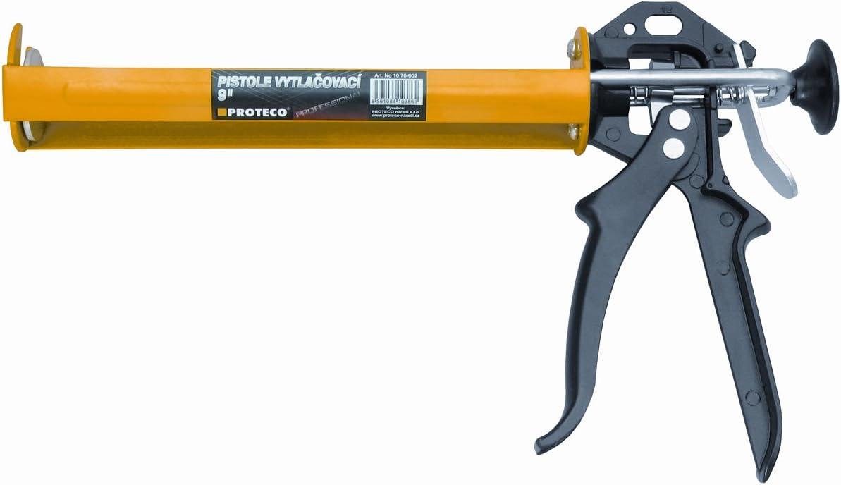 abzugsverh/ältnis 20:1 silikonpistole pistolet /à cartouches Proteco outils pistolet /à cartouche 2 k