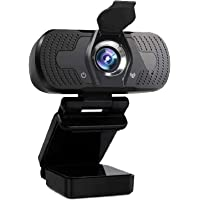 Full HD Webcam 1080p Computer Webcam with Microphone USB PC HD Camera Video Call Recording Webcam Video Conference Call…