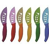 Excelsa Passione Color Set 6 Coltelli Pizza, Acciaio Inossidabile, Multicolore