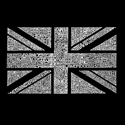 Women's T-shirt - Union Jack - Dark Grey - XXLarge