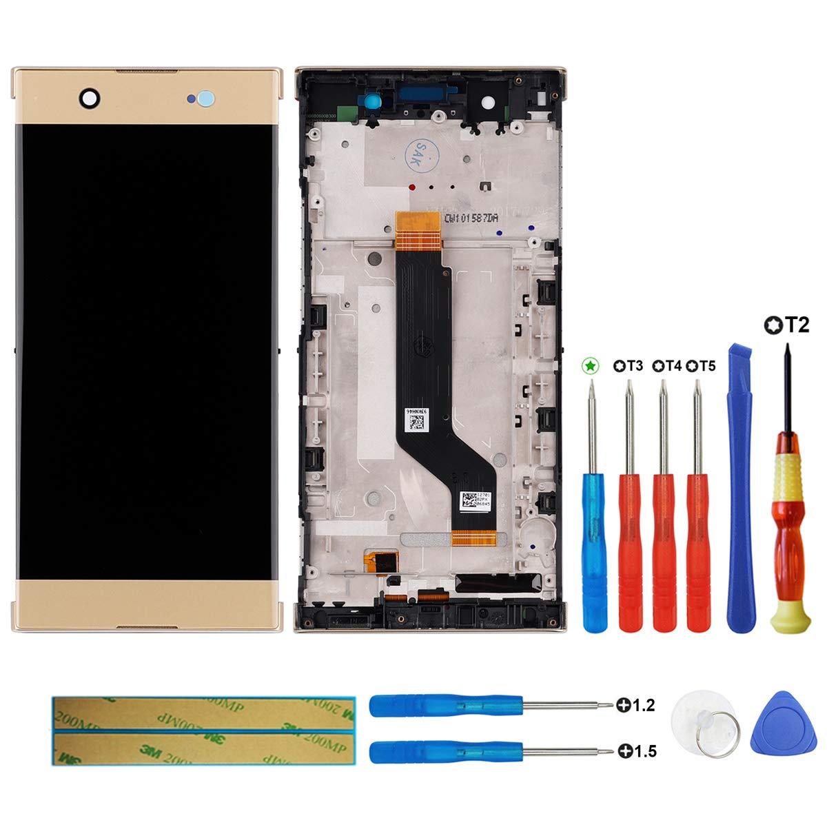 Touch Screen Display Para Sony Xperia Xa1 Ultra G3221 G3223