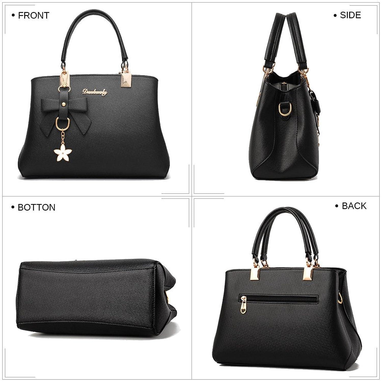 Details about ALARION Women Top Handle Satchel Handbags Shoulder Bag Ladies  Designer Purse Mes 536a5afc97