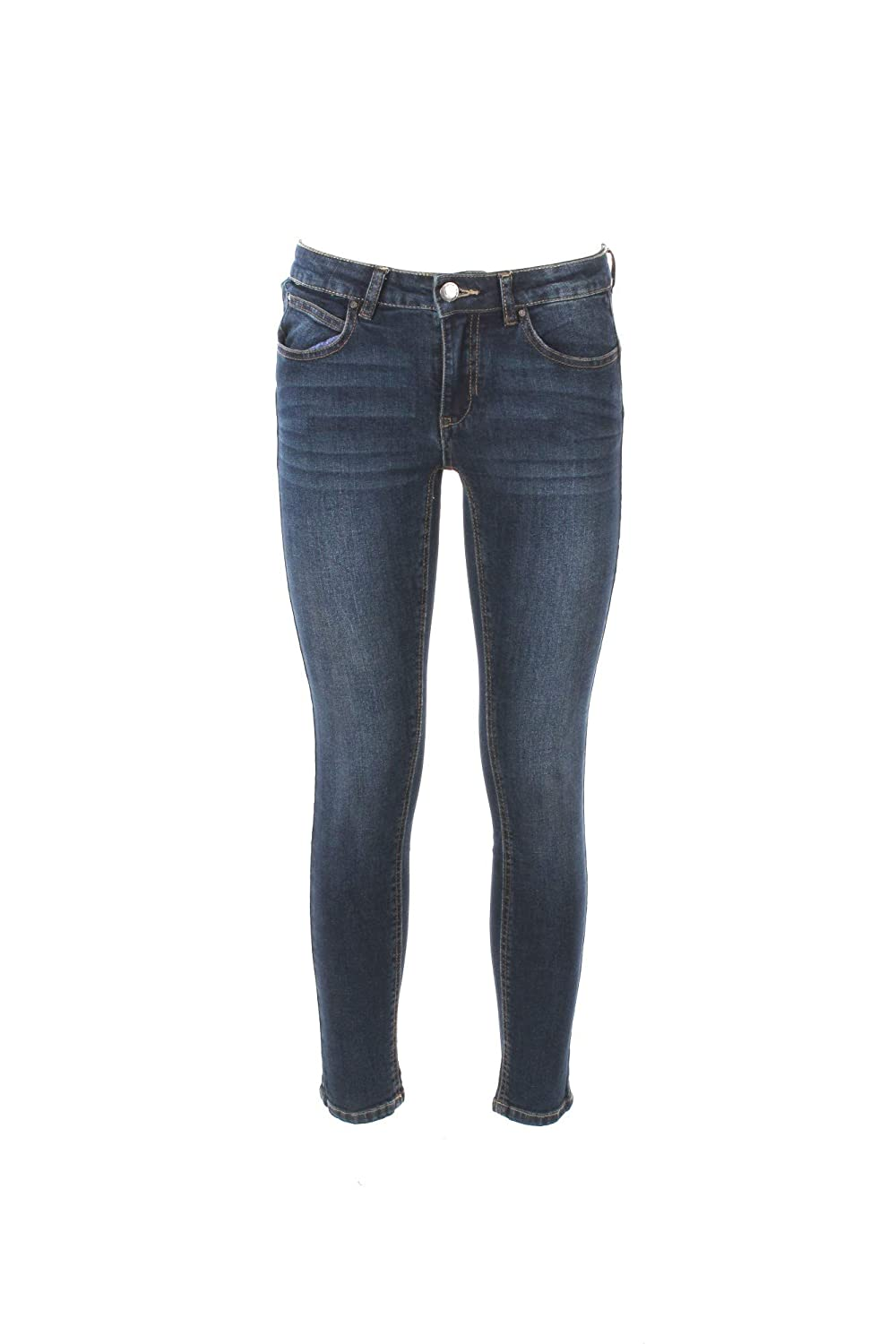YES-ZEE Jeans Donna 30 Denim P314 X605 Autunno Inverno 2018/19