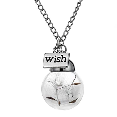 wishing glass tears bottle itm shell star pendant necklace jewelry ocean sea mermaid