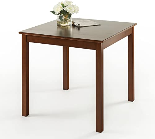 Zinus Nhi Espresso Wood Square Dining Table