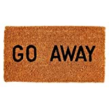 Kempf Go Away Funny Coco Door Mat 16-Inch X 27-Inch, 1-Inch Thick