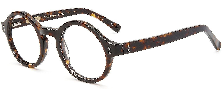 amazoncom ernest hemingway 4616 designer reading glasses in black 025 clothing - Zyl Frames
