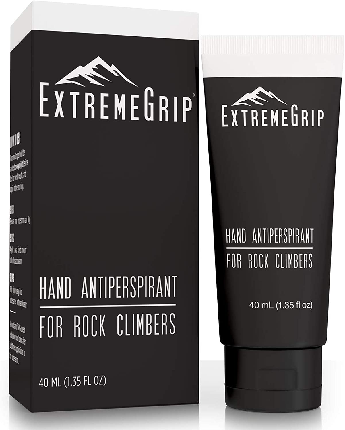 ExtremeGrip - World's First Hand Antiperspirant Grip Lotion for Athletes - Less Sweat, Better Climb, Longer Lift - for Climbing, Weightlifting, Basketball, Gymnastics, Golf, Tennis, and Pole Vaulting : Sports & Outdoors