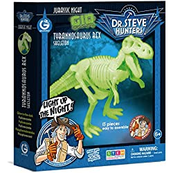 Geoworld Jurassic Night Tyrannosaurus Rex Toy, Glow In The Dark