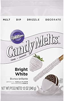 Wilton Candy Melts, Bright White, 12 oz.