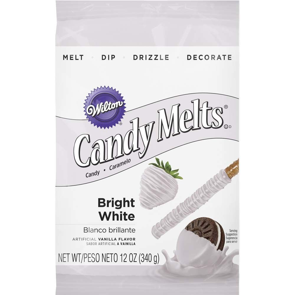 Wilton Candy Melts, White, 12 oz.